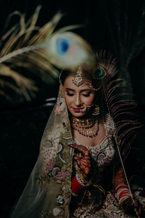 Beautiful Sikh Bride | Rimple & Harpreet Wedding Lehenga