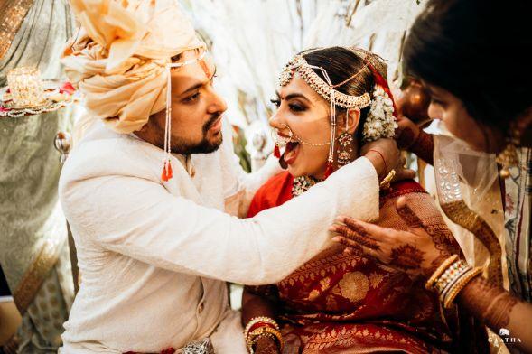 emotional moment   eco friendly wedding
