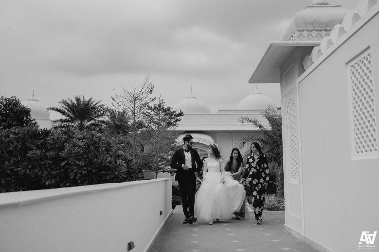 bride and groom entry  | indian weddings