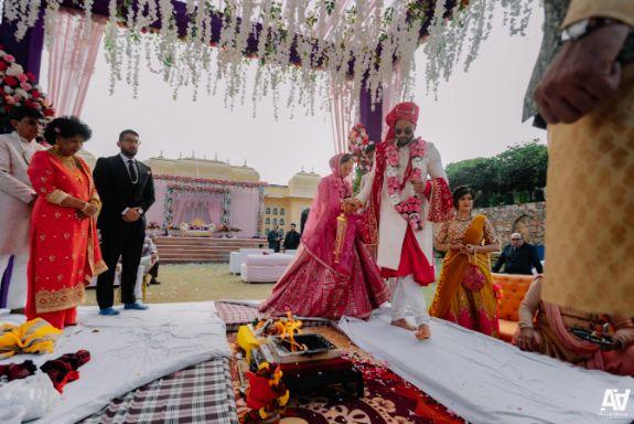 phera ceremony | jaimal ideas | indian weddings | Fab Matching Outfit Ideas