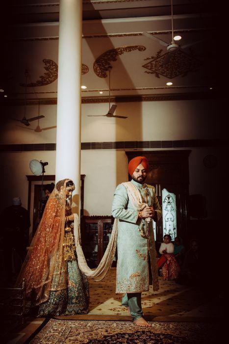 phera ceremony | sikh couple | indian wedding