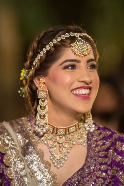 indian bridal jewellery | indian bridal makeup