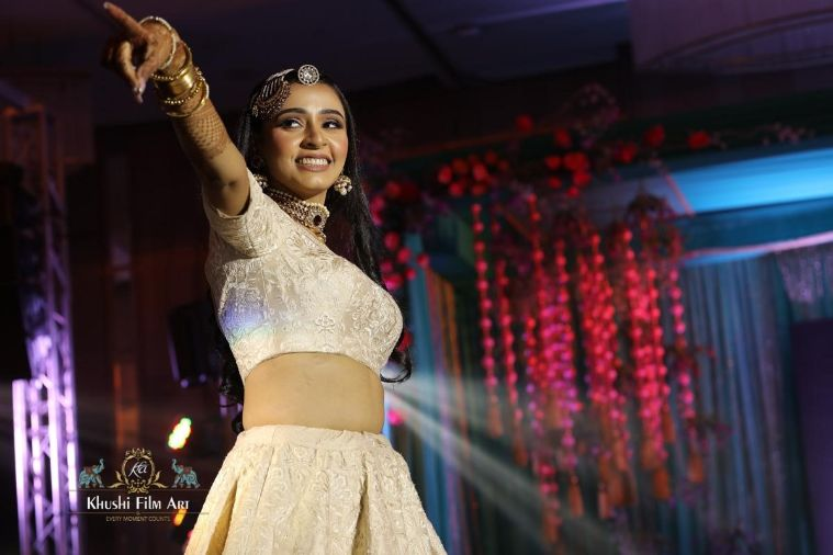 indian bridal outfit ideas for sangeet night