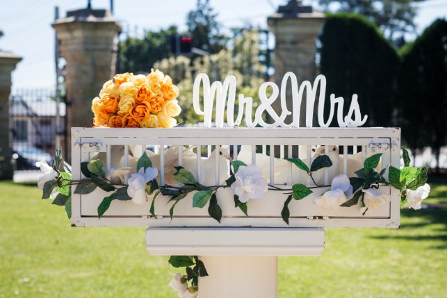 mr and mrs   indian wedidng decor ideas  Cutest Surprise Proposal Ideas