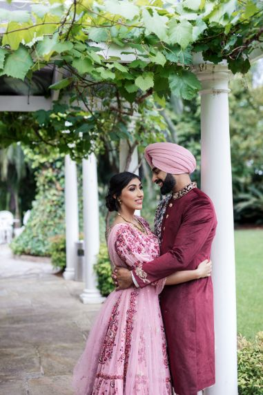 sikh couple | indian wedding photography