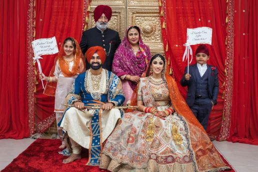 family photography | indian weddings | sikh couple | Cutest Surprise Proposal Ideas