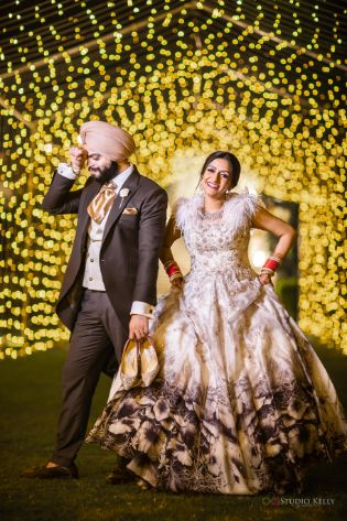 indian wedding photography | Stunning Reception Look
