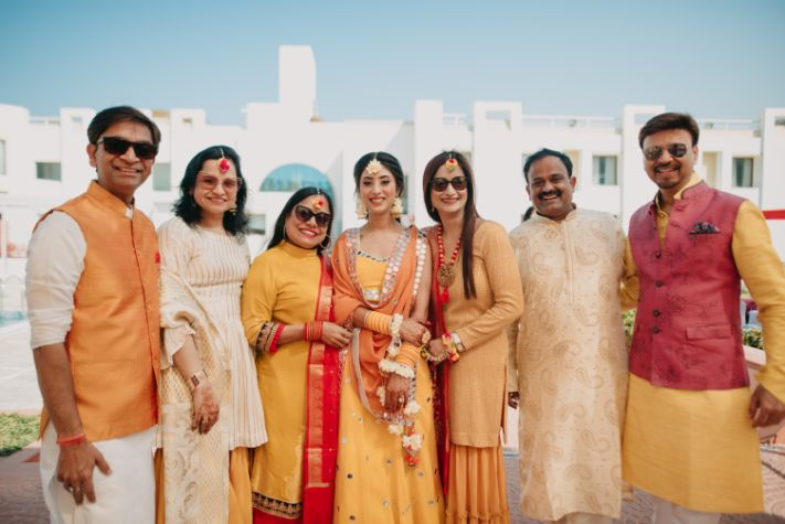 family photograph  | brides side