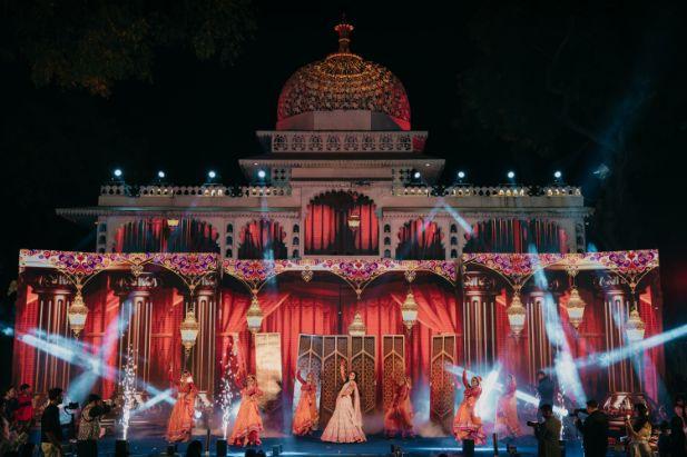 brides dance | indian wedding | Destination Wedding in Udaipur