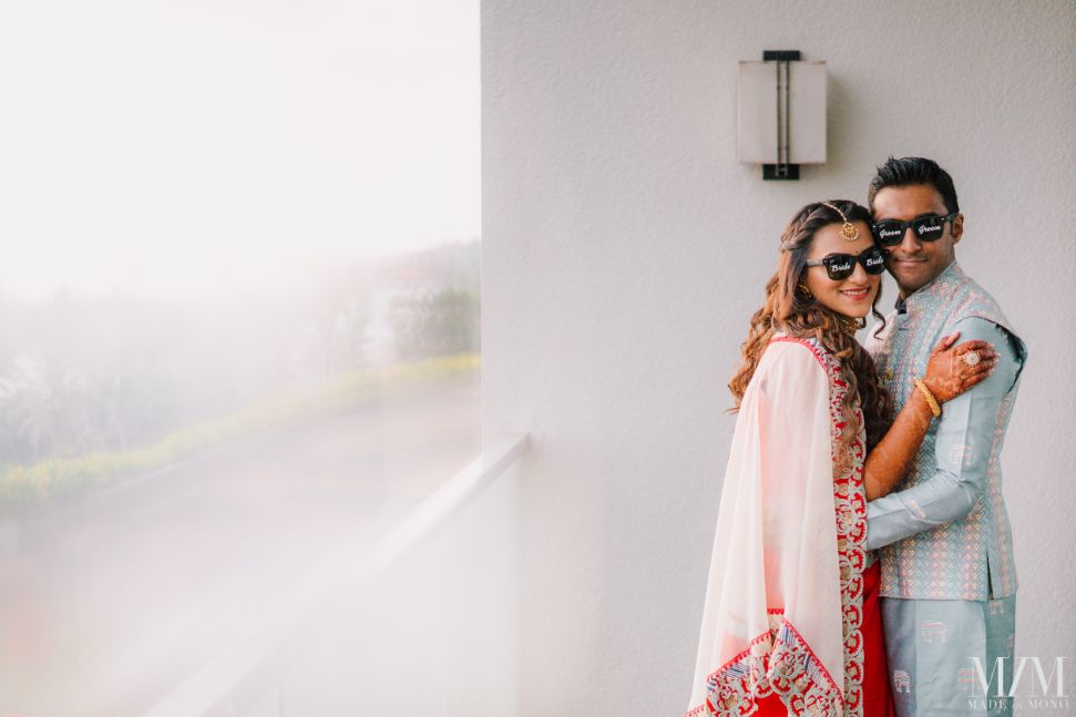 indian bride and groom shoot ideas