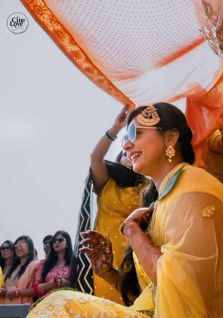 indian wedding diaries | haldi ceremony