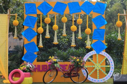 haldi day decor inspiration