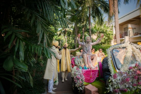 groom entry ideas | Beach Wedding in Hua Hin
