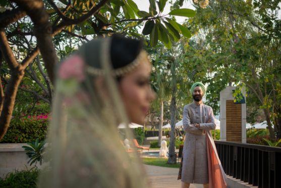 indian bride and groom photography | Beach Wedding in Hua Hin