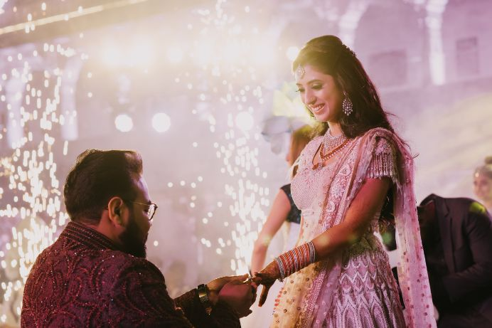 ring ceremony | Destination Wedding in Udaipur
