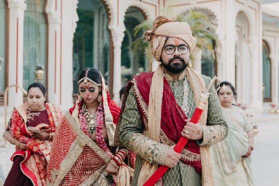 bride and groom | indian weddings | Destination Wedding in Udaipur
