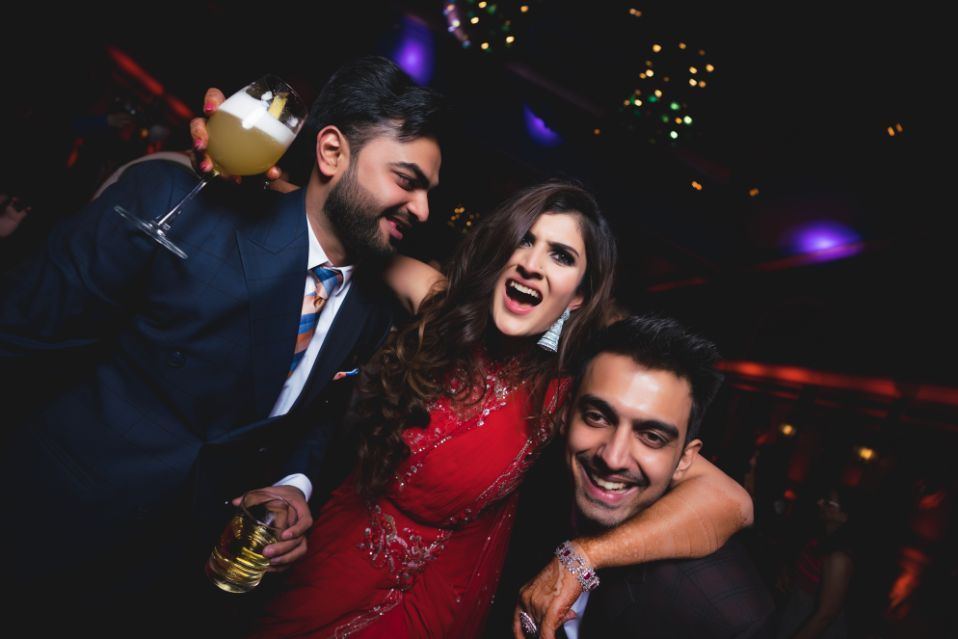 happy moments from an Indian wedding