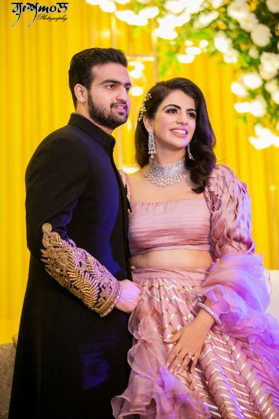 indian couple | negagement ceremonu