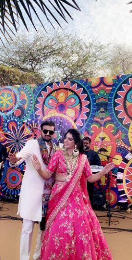 background decor | indian weddings
