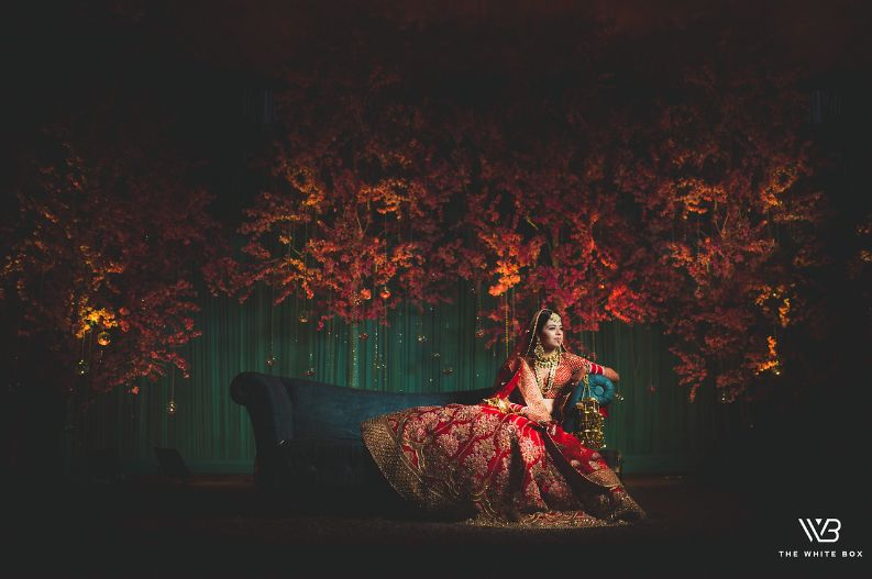 indian bridal photo poses from wedding day