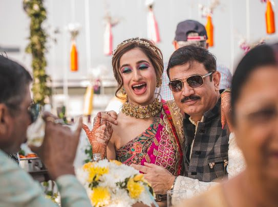 indian bride | mehendi day