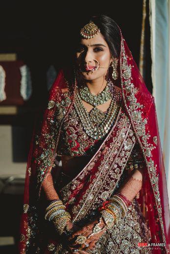 indian bridal bangles | bridal look