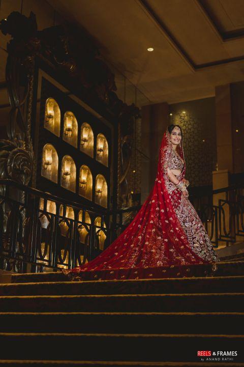bridal photoshoot scenes