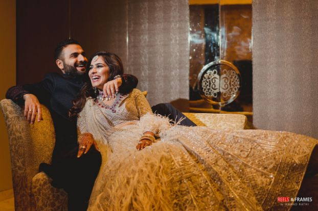 bridal outfit for reception day | indian wedding | indian couple | Major Mehendi Outfit Goals