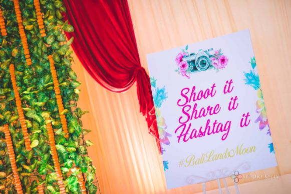 sign board for mehendi day