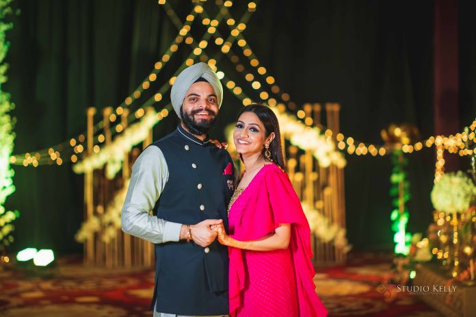 indian wedding functions | sangeet and cocktail night