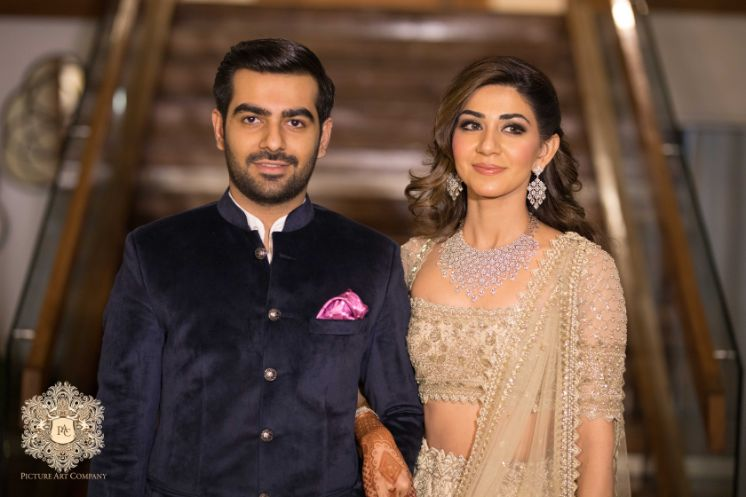 stunning indian bridal makeup for engagement day | Mirror Work Lehenga for Mehendi