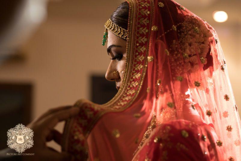 indian bridal veil shots
