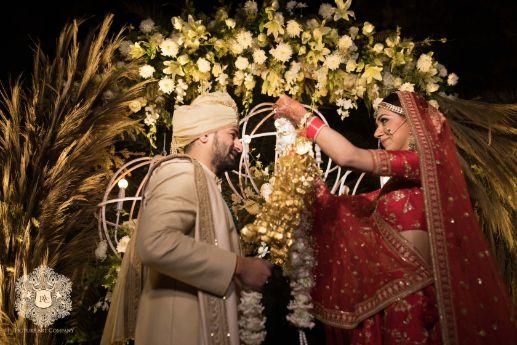 varmala ceremony | indian weddings