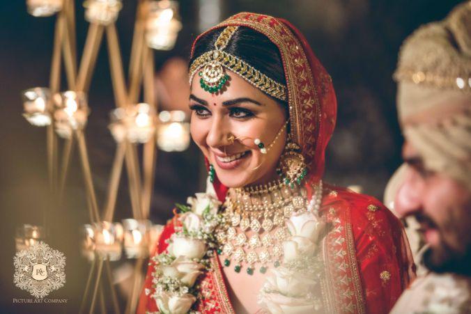 indian bride's candid capture