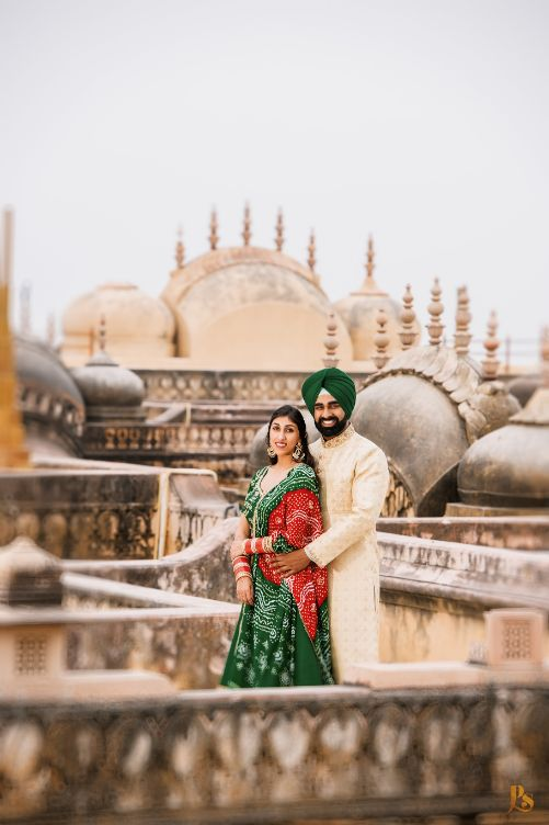 indian couple photos | sikh bride and groom