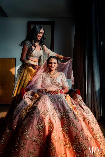 indian bridal getting ready shots | Beach Wedding in Sri Lanka