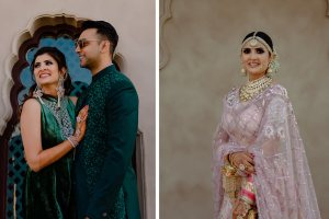 Niharika and Kaushal | delhi velvet | delhi wedding