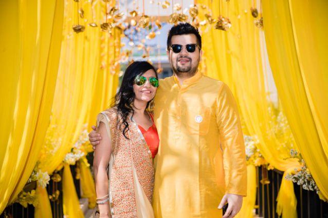 indian wedding haldi photography