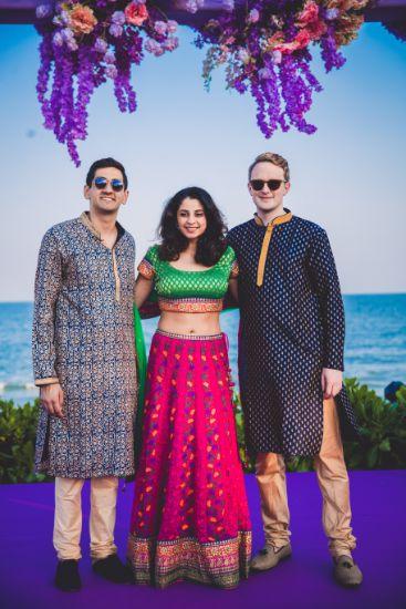 guests at indian wedding | Beach Wedding in Hua Hin