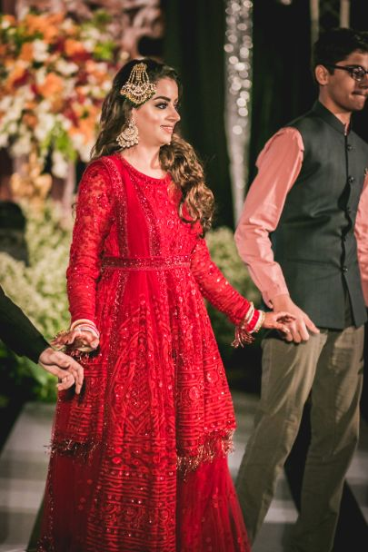 red outfit for the bride | indian weddings | Beach Wedding in Hua Hin