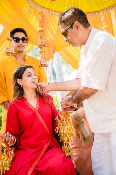 kaleere | haldi outfit | indian weddings