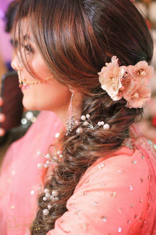 bridal mehenid hairstyle | braided hairstyles