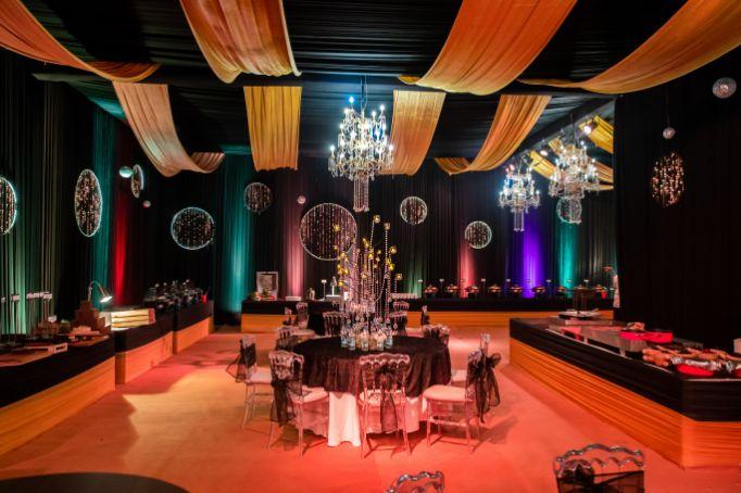 Kitsch mehendi decor  wedding decor ideas