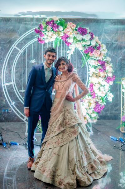 Gaurav gupta gown dress for indian brides | engagment saree gowns | indian couple wedding 2020