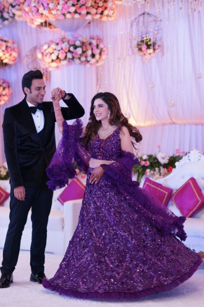 twirling bride | couple dance