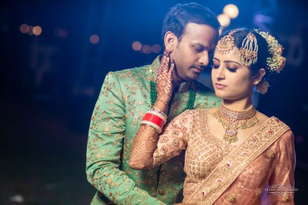 Couple portrait shoot ideas | indian wedding photography