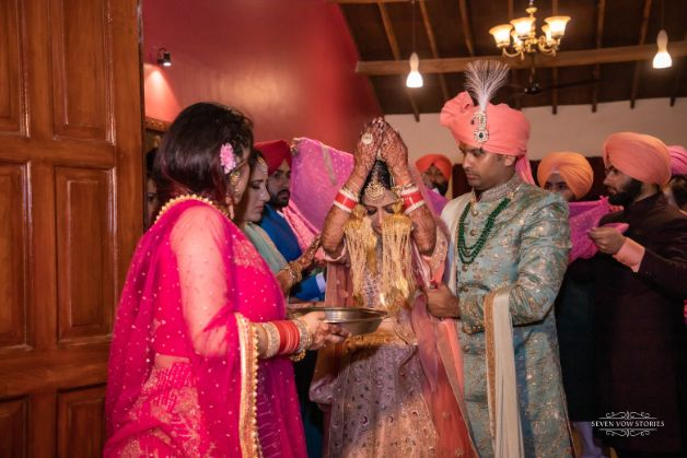 indian wedding vidai ceremony