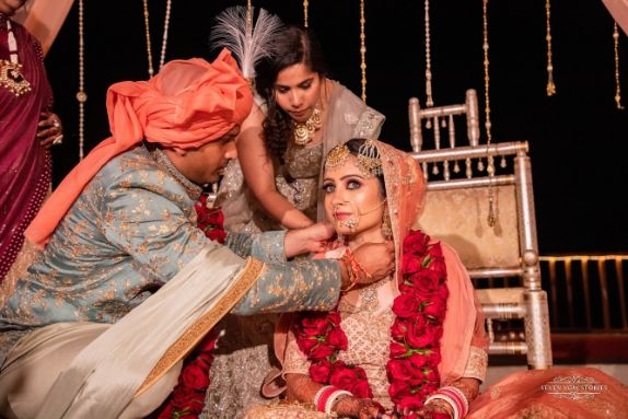 indian grrom and indian bride   indian wedding rituals