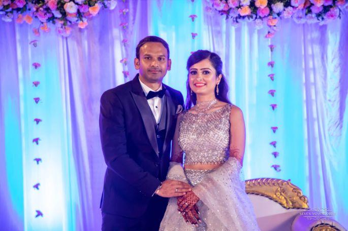 indian couple photo | engagement ceremony