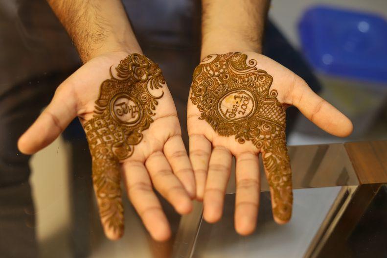 grooms haldi ceremony